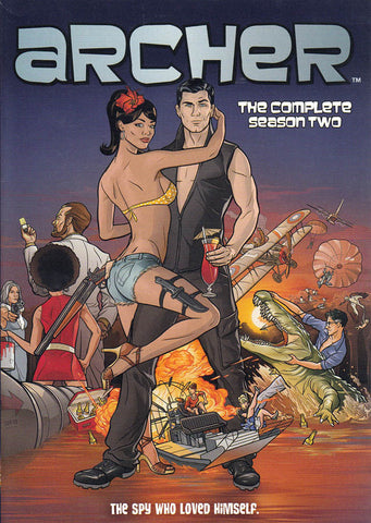 Archer - The Complete Season Two DVD Movie
