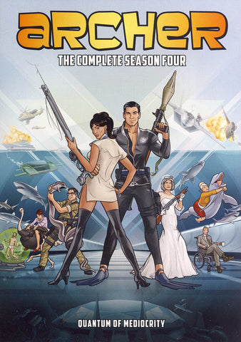 Archer - The Complete Season Four DVD Movie
