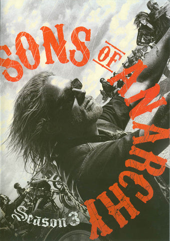 Sons of Anarchy - Season Three DVD Movie