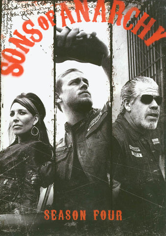 Sons of Anarchy - Season Four DVD Movie