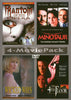 Phantom of the Opera / Minotaur / Wicked Ways / The 4th Floor (4 - Movie Collection) DVD Movie