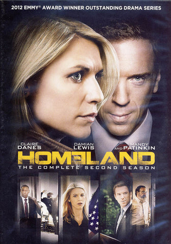 Homeland - The Complete Second Season DVD Movie