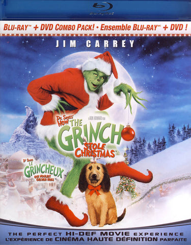Dr. Seuss  How the Grinch Stole Christmas (Bilingual) (Blu-ray) BLU-RAY Movie