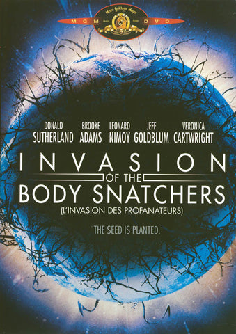 Invasion of the Body Snatchers (Donald Sutherland) (Bilingual) DVD Movie