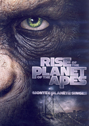 Rise Of The Planet Of The Apes (Bilingual) DVD Movie