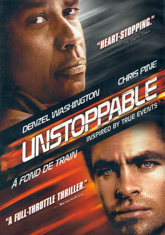 Unstoppable (Bilingual) DVD Movie