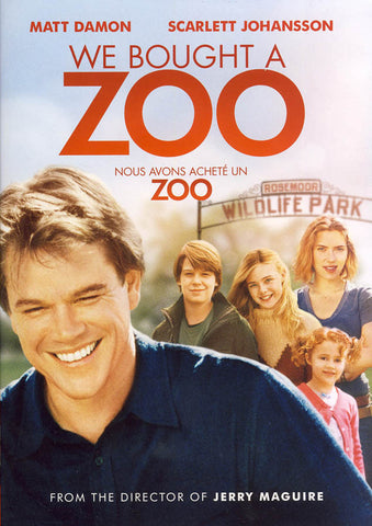 We Bought a Zoo (Bilingual) DVD Movie