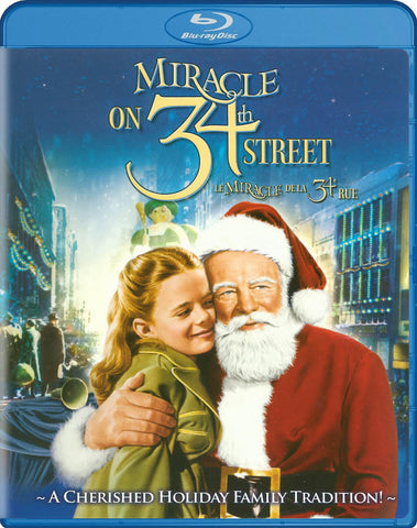 Miracle On 34th Street (1947) (Bilingual) (Blue Cover) (Blu-ray) BLU-RAY Movie