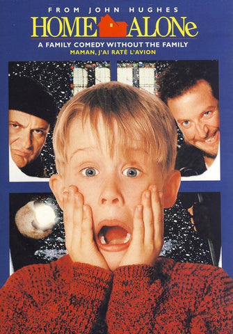 Home Alone (Bilingual) (Dark Blue Cover) DVD Movie