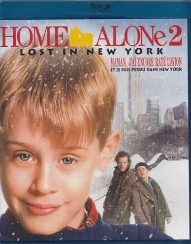 Home Alone 2: Lost in New York (Bilingual) (White Cover) (Blu-ray) BLU-RAY Movie