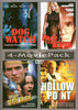 Dog Watch / Face the Evil / High Voltage / Hollow Point (4 Movie Pack) DVD Movie