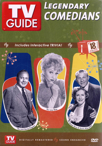 Legendary Comedians (Jack Benny Program / Lucy Show / George Burns & Gracie Allen) (Boxset) DVD Movie