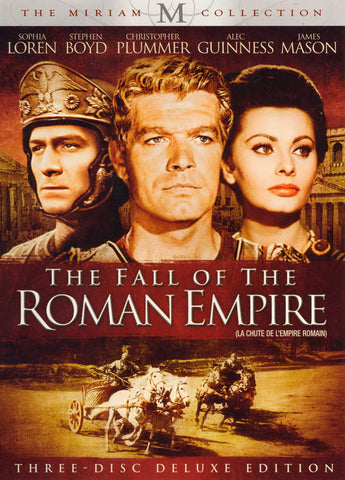 The Fall Of The Roman Empire (3-Disc) (The Miriam Collection) (bilingual) DVD Movie