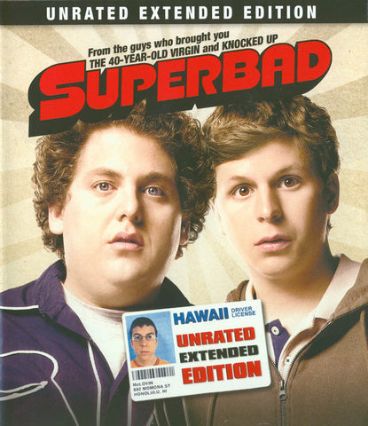 Superbad (Unrated Extended Edition) (Blu-ray) BLU-RAY Movie