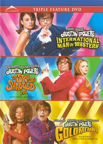 The Austin Powers Collection (International Man of Mystery / the Spy Who Shagged Me / Austin Powers DVD Movie
