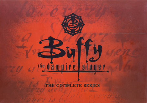 Buffy The Vampire Slayer - The Complete Series (Boxset) DVD Movie
