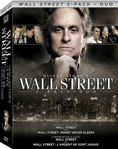 Wall Street Collector's Two-Pack (Boxset) (Bilingual) DVD Movie
