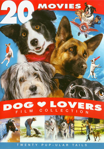 Dog Lovers Film Collection - 20 Movie Set DVD Movie
