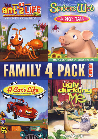 Family 4 pack - Volume 5 DVD Movie