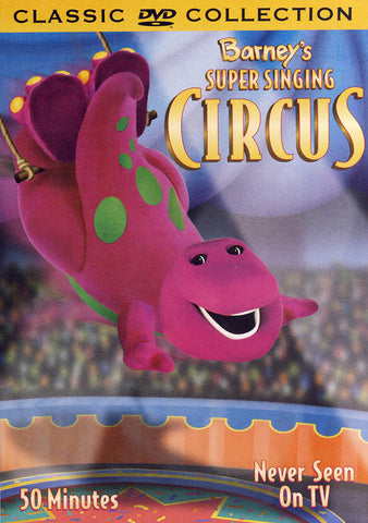 Barney - Barney s Super Singing Circus (Classic Collection) DVD Movie