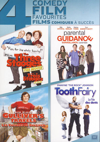 The Three Stooges / Parental Guidance / Gulliver's Travels / The Tooth Fairy (Boxset) (Bilingual) DVD Movie