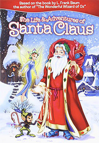 The Life & Adventures of Santa Claus DVD Movie