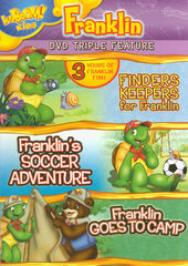 Franklin Triple Feature - Finders Keepers for Franklin / Soccer Adventure / Goes to Camp