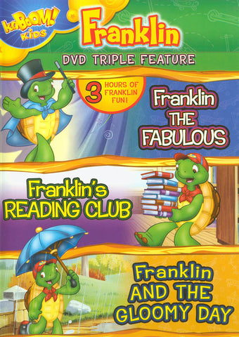 Franklin Triple Feature - Franklin the Fabulous / Franklin s Reading Club / Franklin and the Gloomy DVD Movie