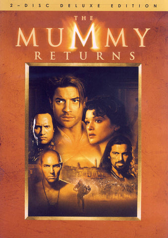 The Mummy Returns (2 Disc Deluxe Edition) DVD Movie