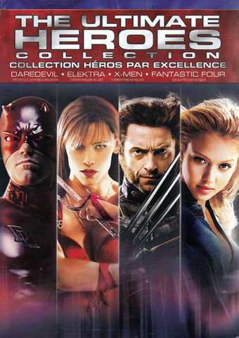The Ultimate Heroes Collection (X-Men / Fantastic 4 / Daredevil / Elektra) (Bilingual) (Boxset) DVD Movie