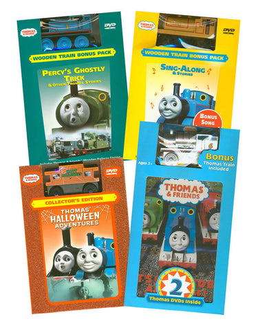 Thomas and Friends Movie & Train Set Collection # 5 (Boxset) DVD Movie