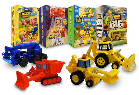 Bob the Builder Construction Set With Toy (Boxset) DVD Movie