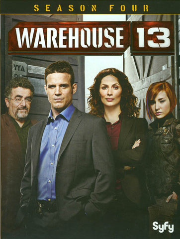 Warehouse 13: Season Four (4) (Boxset) DVD Movie