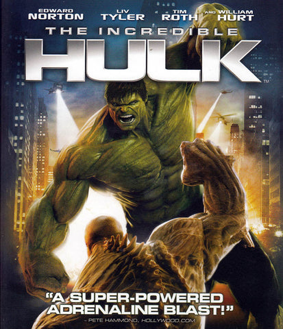 The Incredible Hulk (Blu-ray) BLU-RAY Movie
