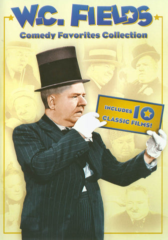 W.C. Fields Comedy Favorites Collection DVD Movie