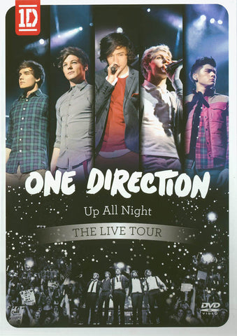 One Direction: Up All Night - The Live Tour (U.S. Version) DVD Movie
