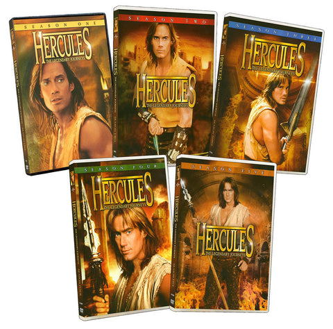 Hercules - The Legendary Journeys (Season 1, 2, 3, 4 and 5) (Pack) (Boxset) DVD Movie