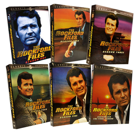 The Rockford Files Complete Seasons Pack (Season 1, 2, 3, 4, 5 and 6) (Boxset) DVD Movie