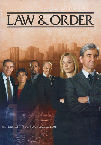 Law & Order - The Fourteenth (14) Year (2003-2004 Season) DVD Movie