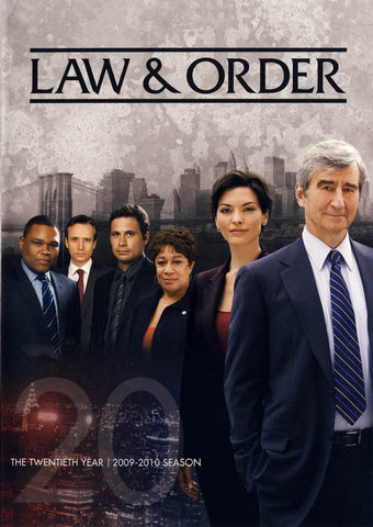 Law & Order - The Twentieth (20) Year (2009-2010 Season) DVD Movie
