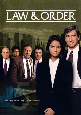 Law & Order - The Fifth (5) Year (1994-1995 Season) DVD Movie