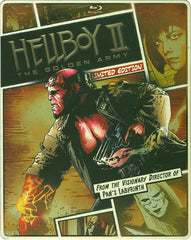 Hellboy II - The Golden Army (Steelbook) (Blu-ray + DVD + Digital Copy) (Blu-ray)