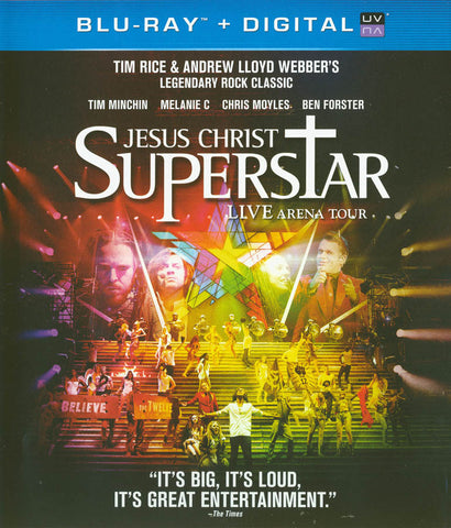 Jesus Christ Superstar - Live Arena Tour (Blu-ray + Digital Copy) (Blu-ray) BLU-RAY Movie