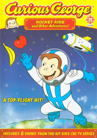 Curious George - Rocket Ride and Other Adventures DVD Movie