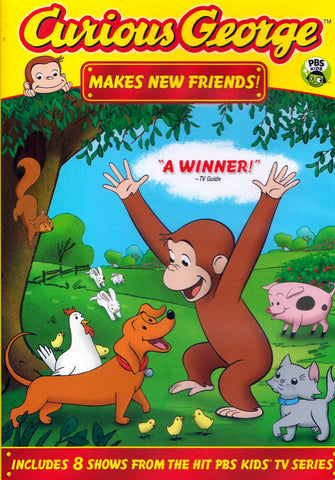 Curious George - Makes New Friends DVD Movie
