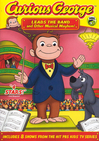 Curious George - Leads the Band and Other Musical Mayhem! DVD Movie