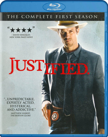 Justified - The Complete First (1) Season (Blu-ray) BLU-RAY Movie
