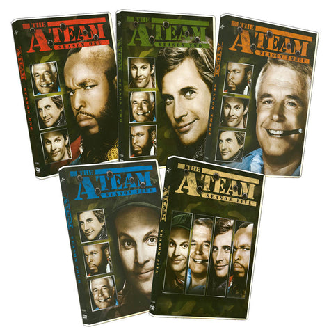 The A-Team Complete Series (5 Pack) (Boxset) (Keep Case) DVD Movie