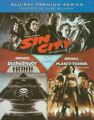 Death Proof / Planet Terror / Sin City (Triple Feature) (Boxset) (Blu-ray)