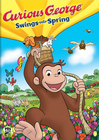 Curious George - Swings into Spring DVD Movie